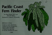 Cover of: Pacific Coast fern finder |