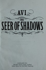 Cover of: The seer of shadows | Avi