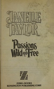 Cover of: Passions wild and free