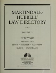 Cover of: Martindale Hubbell Law Directory 1999 (Martindale Hubbell Law Directory)