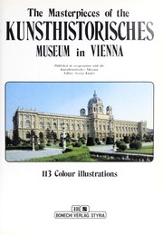 Cover of: The Masterpieces of the Kunsthistorisches Museum in Vienna |