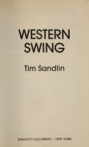 Cover of: Western swing