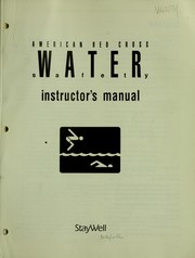 Cover of: American Red Cross water safety instructor's manual
