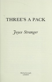 Cover of: Three's a pack