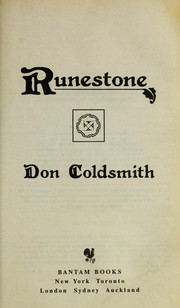 Cover of: Runestone | Don Coldsmith