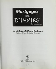 Cover of: Mortgages for dummies