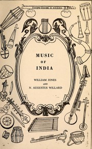 Cover of: Music of India |