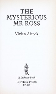Cover of: The Mysterious Mr. Ross
