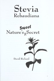 Cover of: Stevia rebaudiana