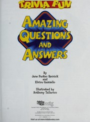 Cover of: Trivia fun
