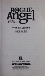 Cover of: The oracle's message
