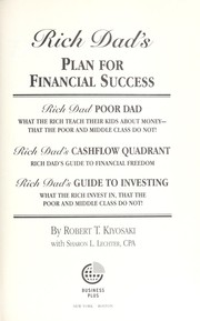 Cover of: Rich dad's plan for financial success