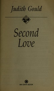 Cover of: Second love