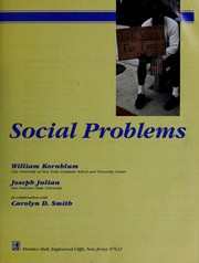 Cover of: Social problems | William Kornblum