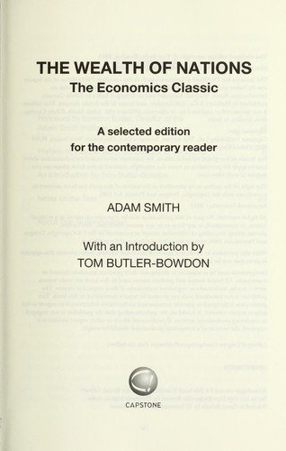adam smiths the wealth of nations as a fundamental work in classical economics Adam smith's masterpiece, first published in 1776, is the foundation of modern economic thought and remains the single most important account of book offers one of the world's first collected descriptions of what builds nations' wealth, and is today a fundamental work in classical economics.