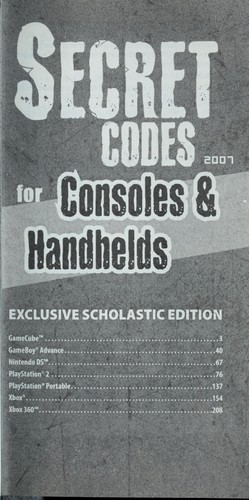 Secret codes for consoles & handhelds 2007 by