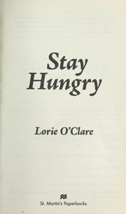 Cover of: Stay hungry