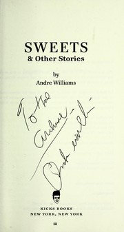 Cover of: Sweets and other stories