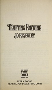 Cover of: Tempting fortune | Jo Beverley