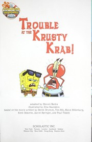 Cover of: Trouble at the Krusty Krab!