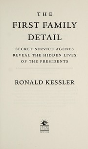 Cover of: The First Family detail