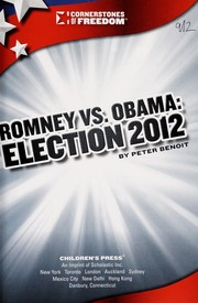 Cover of: Romney vs. Obama | Peter Benoit