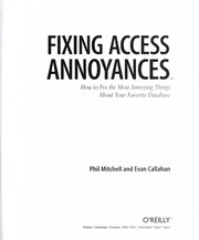 Cover of: Fixing Access annoyances | Phil Mitchell
