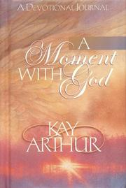 Cover of: A Moment with God
