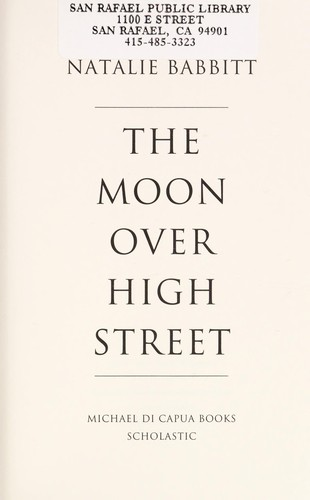 The Moon Over High Street 2012 Edition Open Library