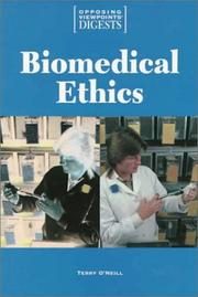Cover of: Biomedical Ethics
