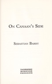 Cover of: On canaan's side