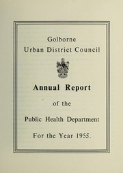 Cover of: [Report 1955] | Golborne (England). Urban District Council. nb2011008374