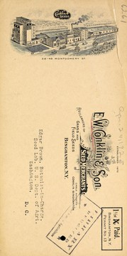 Cover of: Wholesale re-cleaned grass and field seeds | E.W. Conklin & Son