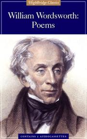 Cover of: William Wordsworth by