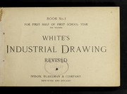Cover of: Industrial drawing | White, George G.