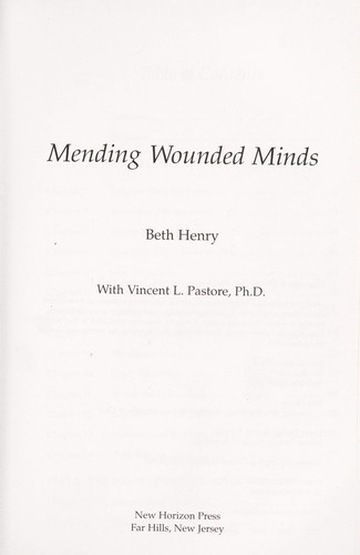 Mending wounded minds by Beth Friday Henry