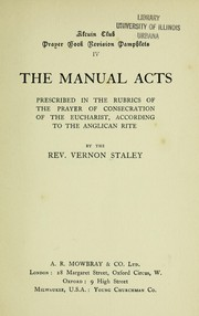 The manual acts