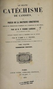 Cover of: Le grand cat©♭chisme de Canisius
