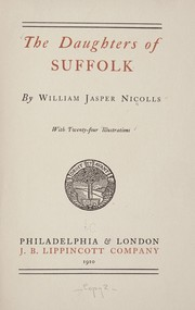 Cover of: The daughters of Suffolk