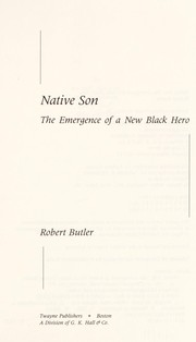 Cover of: Native son