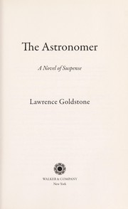 Cover of: The astronomer