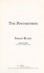 Cover of: The postmistress | Sarah Blake