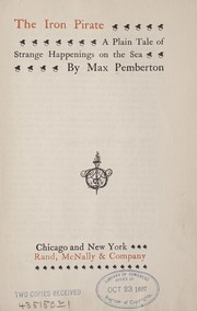 Cover of: The iron pirate | Sir Max Pemberton