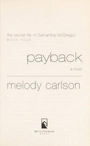 Cover of: Payback: a novel