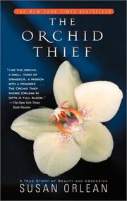 Cover of: The Orchid Thief | Susan Orlean