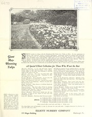 Cover of: Giant May-blooming tulips