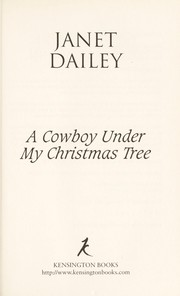 Cover of: A cowboy under my Christmas tree | Janet Dailey