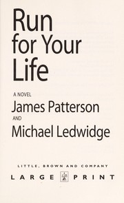Cover of: Run for your life | James Patterson