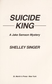 Cover of: Suicide King