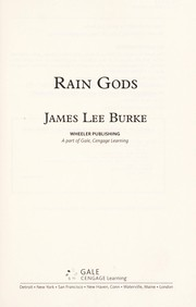 Cover of: Rain gods